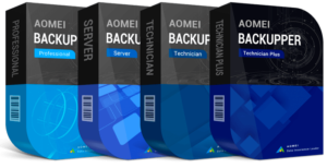 AOMEI Backupper Professional / Server / Technician / Technician Plus