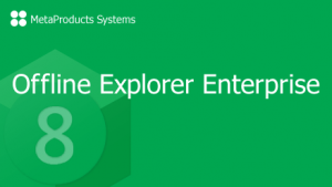 MetaProducts Offline Explorer Enterprise
